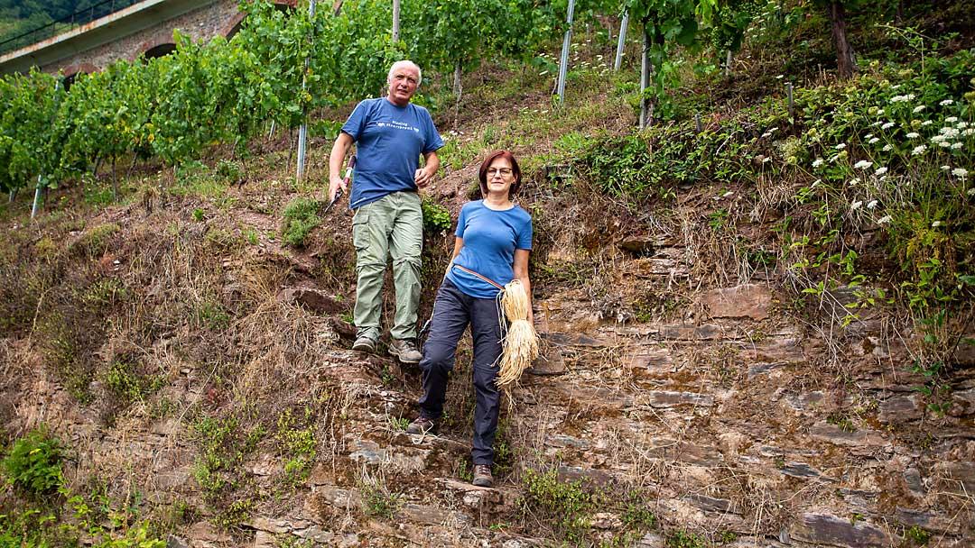 Frank und Jutta Brohl - Weingut Brohl
